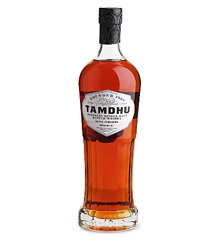 TAMDHU Batch strength speyside whiskey 700ml