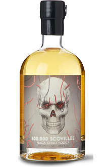 THE HOT ENOUGH VODKA COMPANY Naga chilli vodka 700ml