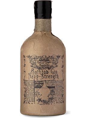 PROFESSOR CORNELIUS AMPLEFORTH Navy-Strength Bathtub gin 700ml