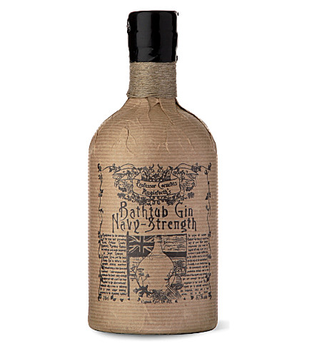 PROFESSOR CORNELIUS AMPLEFORTH Navy-Strength Bathtub gin 700ml