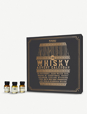 DRINKS BY THE DRAM Whisky advent calendar 24 x 30ml