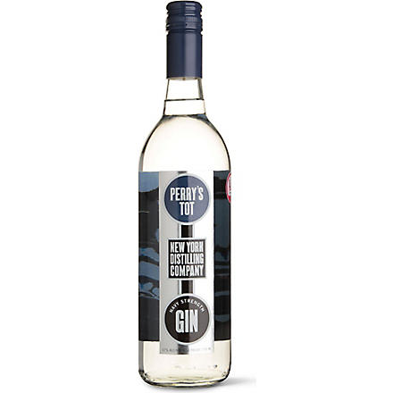 NEW YORK DISTILLING COMPANY Perry Tot's Navy Strength gin 700ml