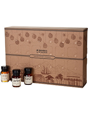DRINKS BY THE DRAM Rum advent calendar 24x50ml