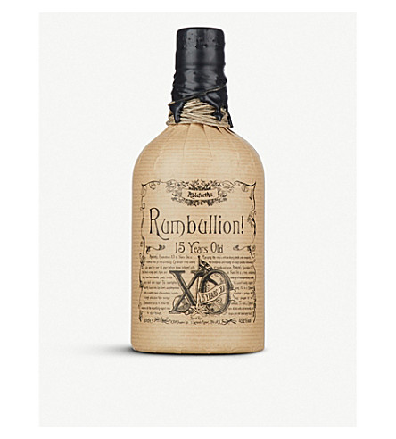 ABLEFORTH'S Rumbillion XO 15 year-old rum 750ml