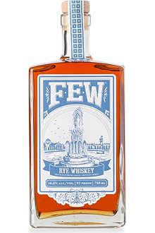FEW SPIRITS Rye whisky 700ml