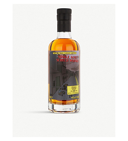 THAT BOUTIQUE-Y WHISKY COMPANY That Boutique-y Whisky Company Caperdonich 22-year-old single malt whisky 500ml