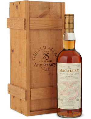MACALLAN 1963 25 Year Anniversary single malt whisky 700ml