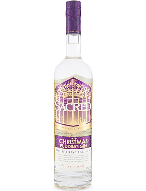 SACRED GIN Cristmas pudding gin 700ml