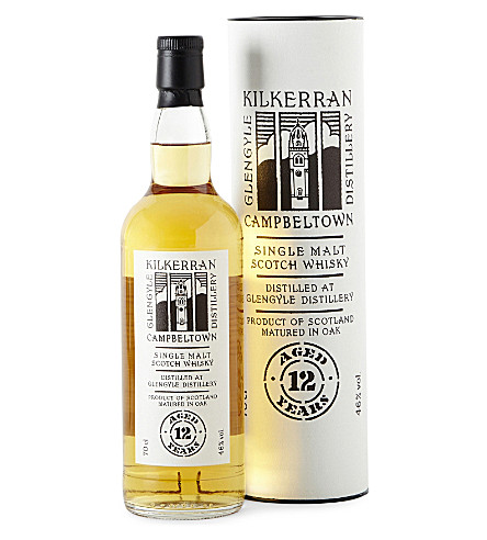 SPRINGBANK 12 year old single malt whisky 700ml