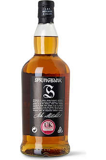 SPRINGBANK 10 year old single malt 700ml