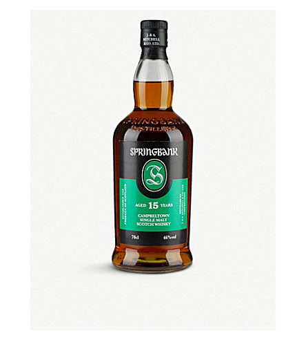 SPRINGBANK 15 year old single malt 700ml