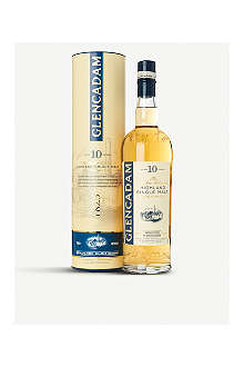 GLENCADAM 10 year old single malt Scotch whisky 700ml