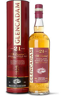 GLENCADAM 21 year old single malt Scotch whisky 700ml