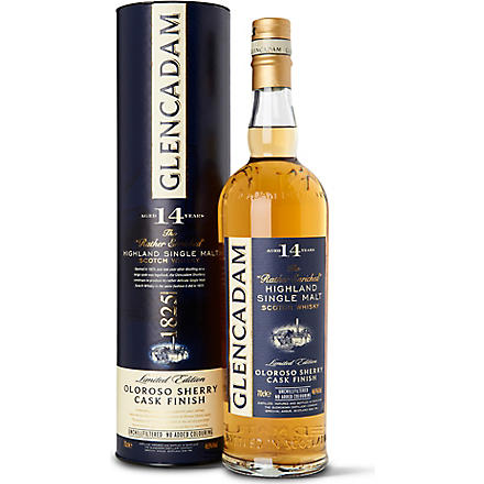 14 year old Oloroso Sherry Wood single malt Scotch whisky cask 700ml