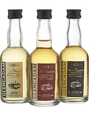 HIGHLAND Single malt scotch whisky triple pack 3x50ml