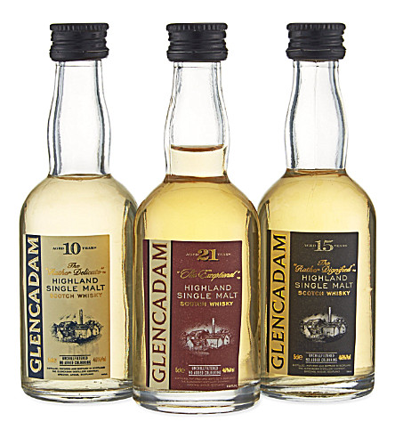 HIGHLAND Single malt scotch whisky triple pack 3x50ml