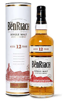 BENRIACH 12 year old single malt Scotch whisky 700ml