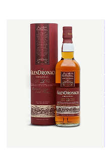 GLENDRONACH 12 year old single malt Scotch whisky 700ml