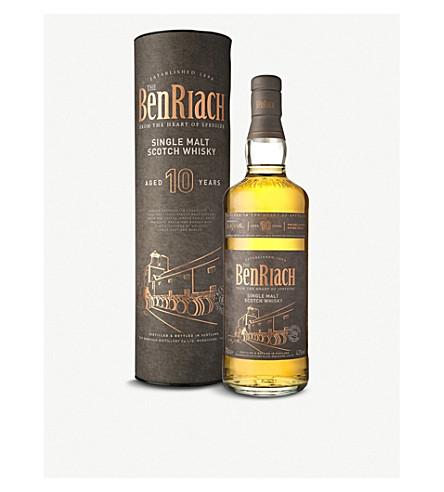 WORLD WHISKEY BenRiach 10 year single malt scotch whiskey 700ml