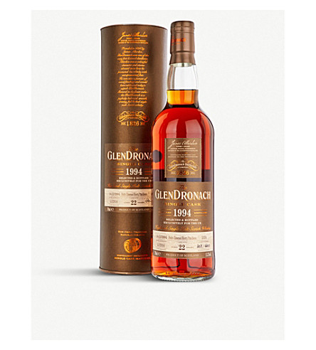 WHISKY AND BOURBON GlenDronach 1994 22-year-old single malt whisky 700ml