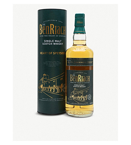 SPEYSIDE BenRiach heart of speyside single malt scotch whiskey 700ml