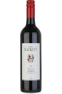 SIMON HACKETT Hills View Shiraz 2010 750ml