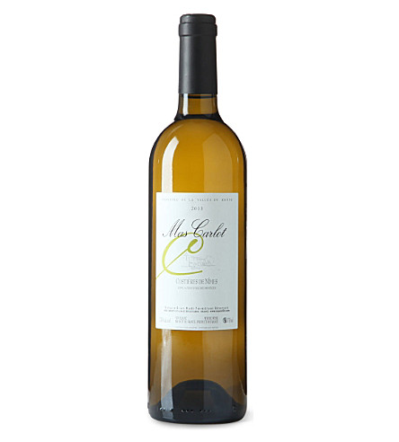 RHONE Costieres de nimes Mas Carlot white wine 750ml