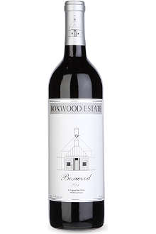 BOXWOOD ESTATE Boxwood 2010 red wine 750ml