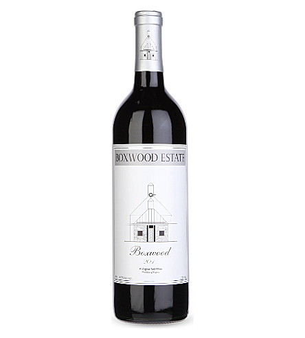 USA Boxwood red wine 750ml