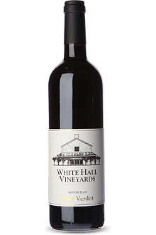 WHITE HALL VINEYARDS Petit Verdot red wine 750ml