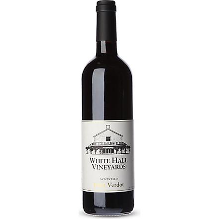 WHITE HALL VINEYARDS Petit Verdot red wine 750ml