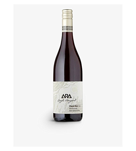 NEW ZEALAND Single Estate Pinot Noir 750ml