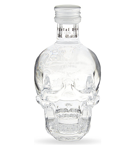 CRYSTAL HEAD VODKA CRYSTAL HEAD 伏特加微型 50 毫升