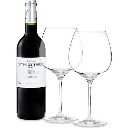 Vin de Bordeaux Chateau Petit Moulin 2012 750ml