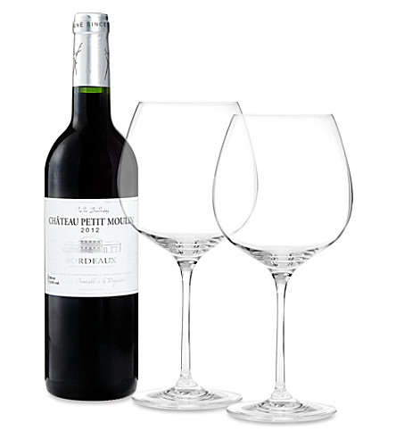 BORDEAUX Vin de Bordeaux Chateau Petit Moulin 2012 750ml