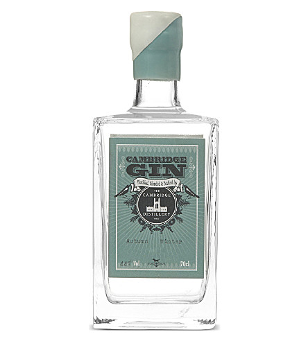CAMBRIDGE GIN Autumn/Winter gin 700ml