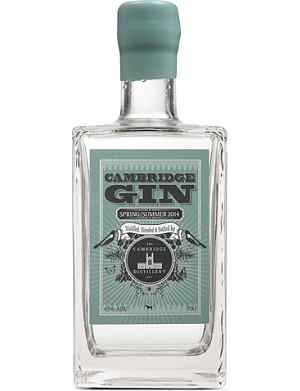 CAMBRIDGE GIN Spring/Summer 2014 gin 700ml