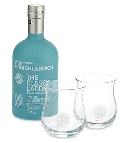BRUICHLADDICH Bruichladdich Classic Laddie gift set 700ml
