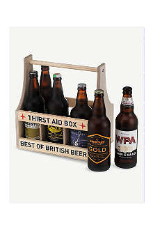 BEST OF BRITISH London wooden crate 9x330ml