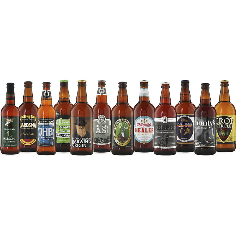 Best Of British Award winning beer crate 12 x 500ml