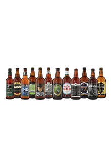 BEST OF BRITISH Award winning beer crate 12 x 500ml