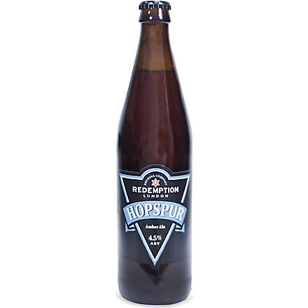 REDEMPTION BREWING COMPANY Hopspur Amber Ale 500ml