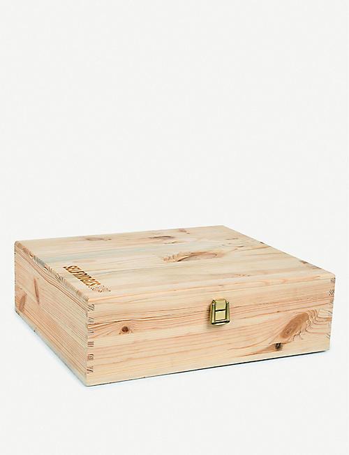 SELFRIDGES SELECTION Wooden wine box