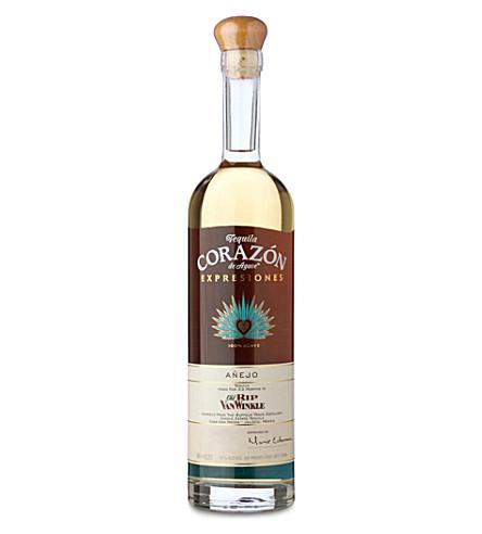 TEQUILA Corazon anejo rip van winkle cask tequila 750ml