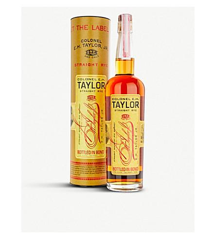BOURBON E.H. Taylor Straight Rye whisky 700ml