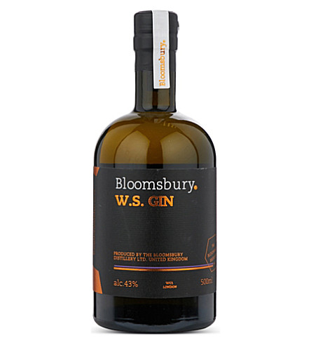 GIN Bloomsbury Distillery W.S. gin 500ml