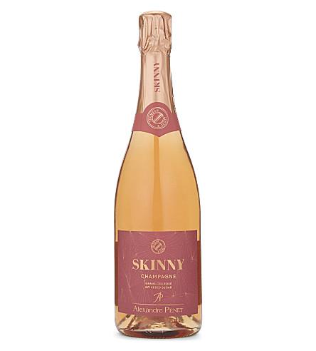 CHAMPAGNE Skinny Grand Cru Rosé champagne 750ml
