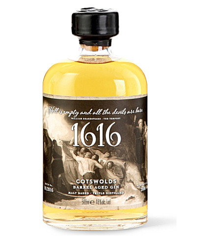 GIN 1616 barrel-aged gin 500ml
