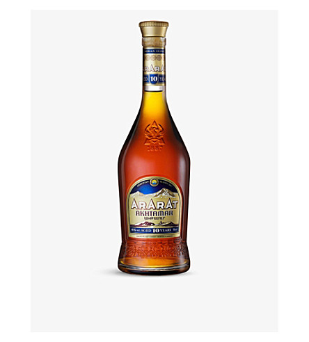 BRANDY Ararat 10 year old armenian brandy 700ml