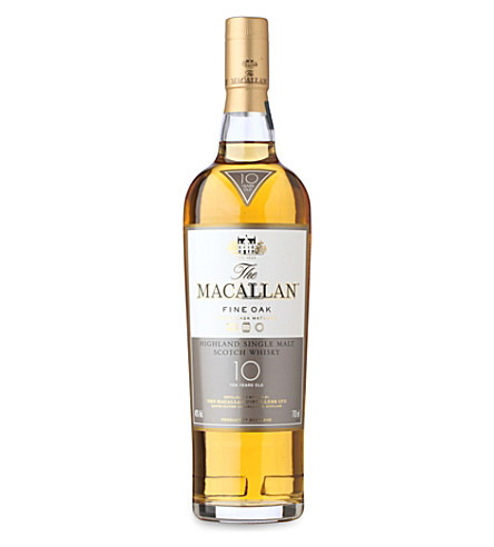 MACALLAN 10 year fine oak single malt scotch whiskey 700ml